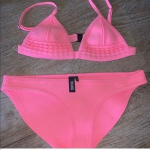 Triangl swimsuit Xs top S bottom